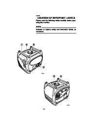 Yamaha EF2400iS Generator Owners Manual