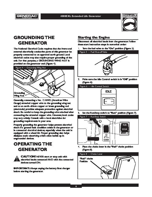 Generac Guardian Generator Parts Diagram, Generac, Free