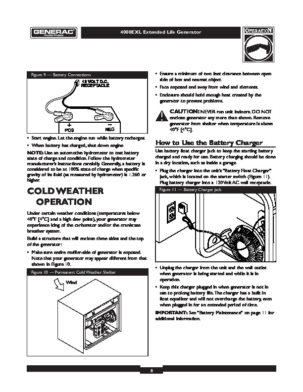 Generac 4000exl Generator Owners Manual Need Manual Free