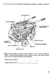 Honda Generator EM3800SX EM5000SX EM6500SX Owners Manual