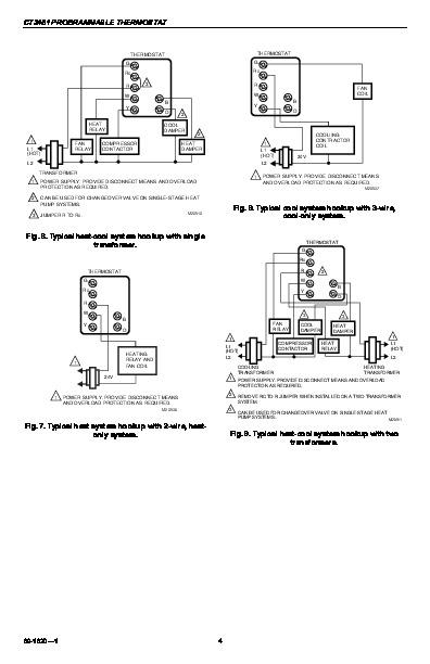honeywell thermostat manual