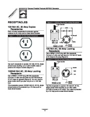 Generac SVP5000 Generator Owners Manual