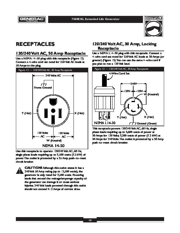 generac wiring schematic