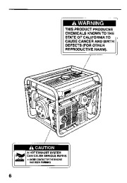 Honda Generator EM5000SX Owners Manual