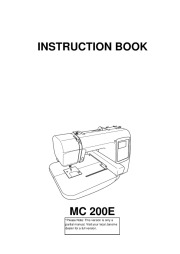 Janome Sewing Machine Manuals