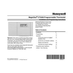 Honeywell Rth221b Wiring Diagram 2004 Saab 9 3 Thermostat Lr1620 ~ Elsavadorla