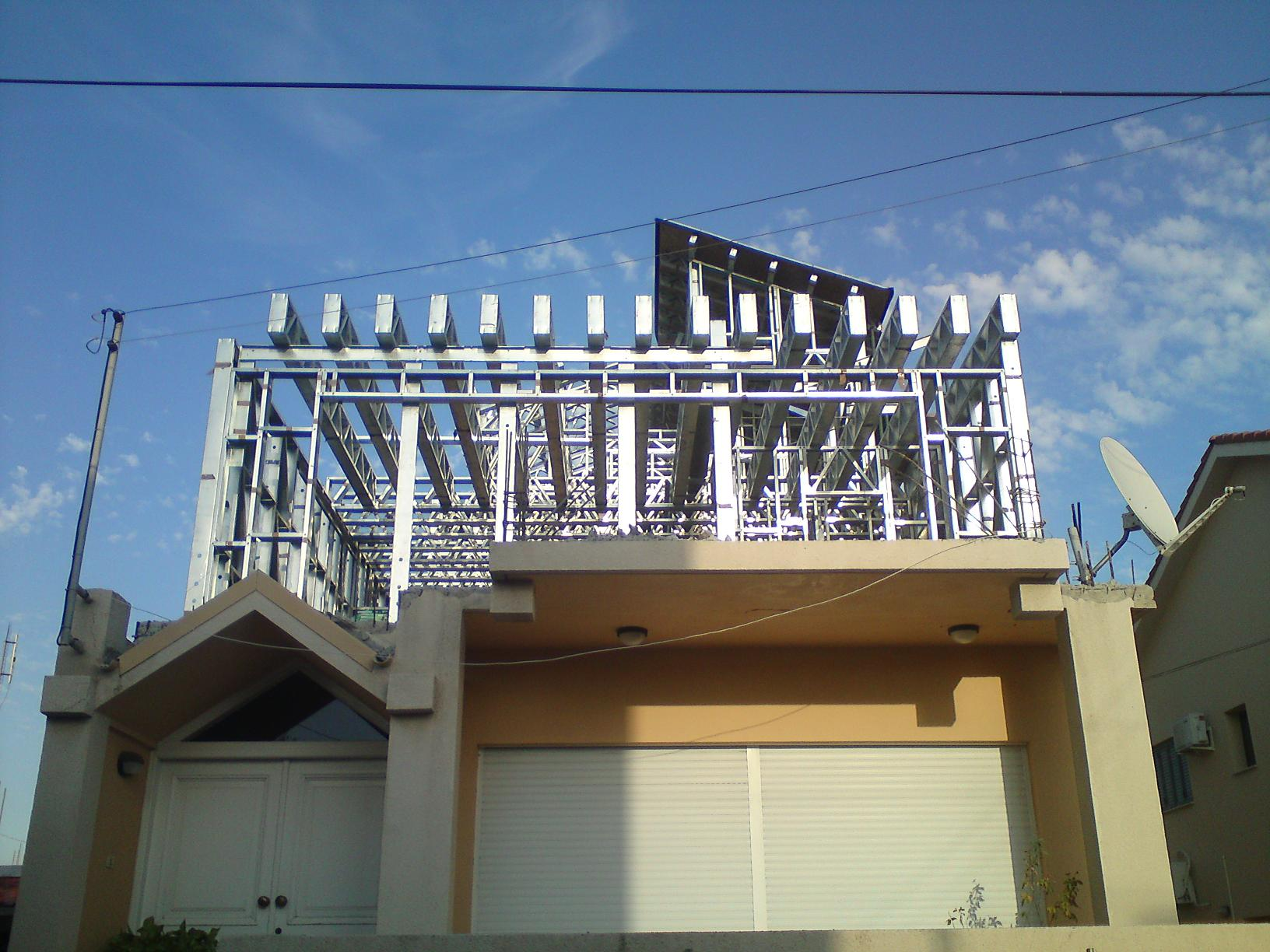Steel Frame Homes Cyprus Build On Top Of Your Existing House