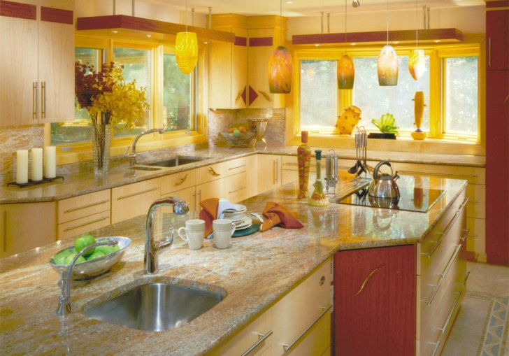 Painting Kitchen Cabinets Bright Colors