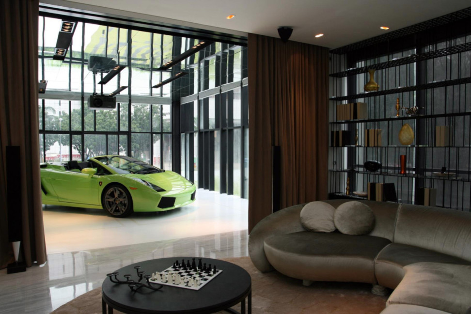 Super Luxury Singapore Apartment With Inroom Car Parking
