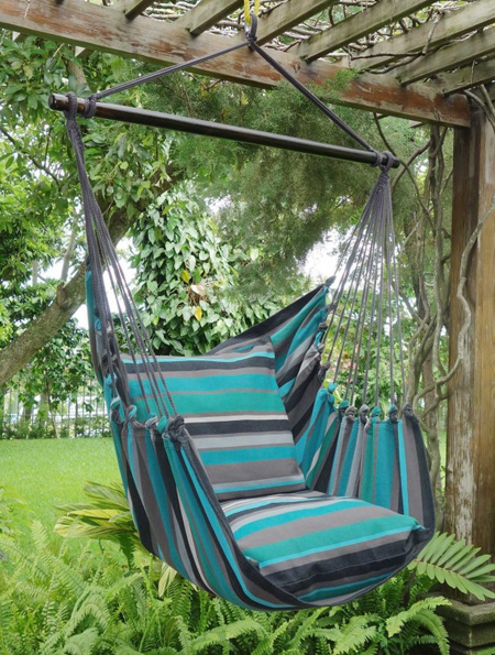 tree hanging hammock chair folding teak chairs with arms home dzine garden ideas | easy to make for patio or