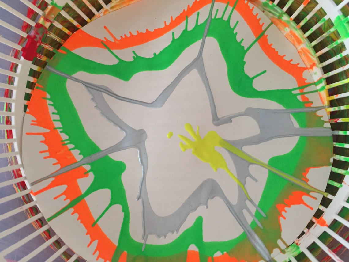 Why You Need A Salad Spinner For Your Art Cupboard | The Home Education Diaries