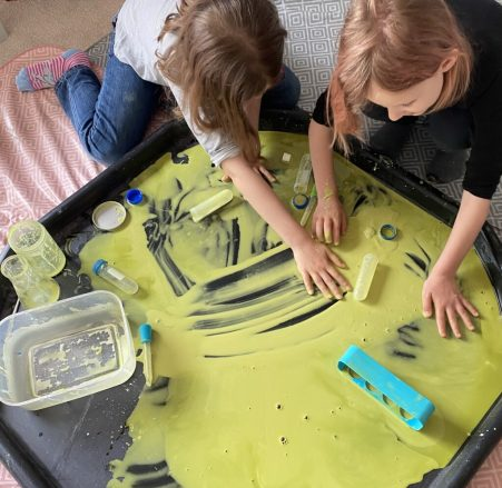Our Science Lab: An IKEA Kitchen Hack | The Home Education Diaries