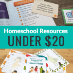 Homeschool Resources Under $20
