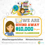 Enter to Win Your Dream Classroom – Homeschoolers Too!
