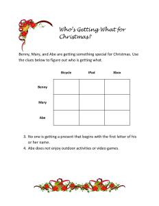 Christmas Critical-Thinking Logic Puzzles