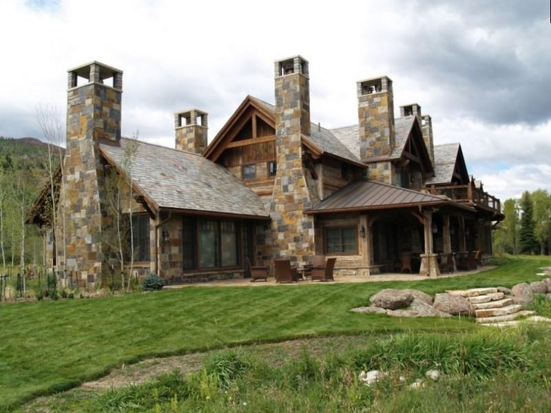 Большой дом в английском стиле