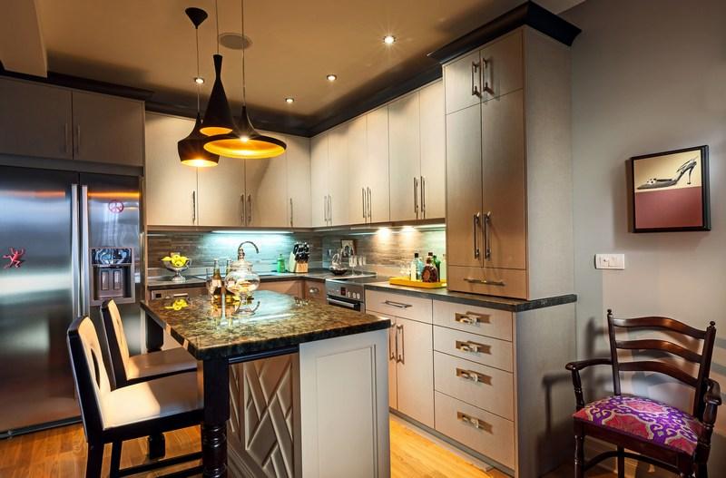 інтер'єр кухні в стилі кантрі