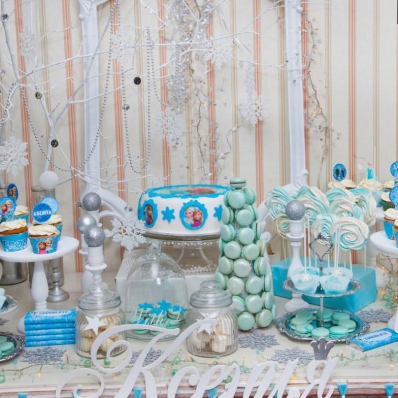 оформление стола на день рождения