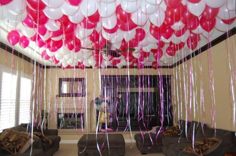 как украсить комнату подростка на день рождения