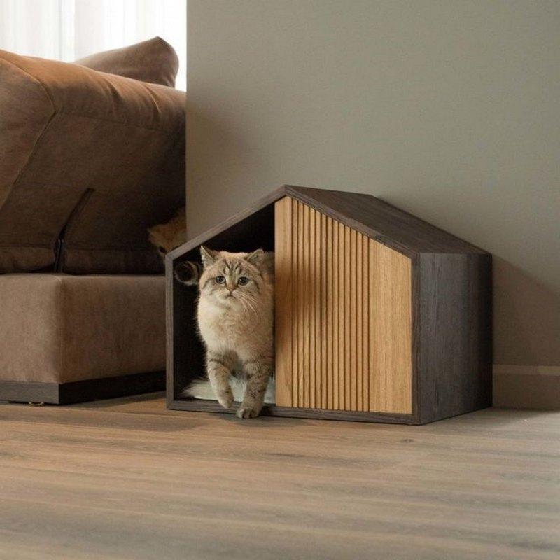 дом для кота своими руками