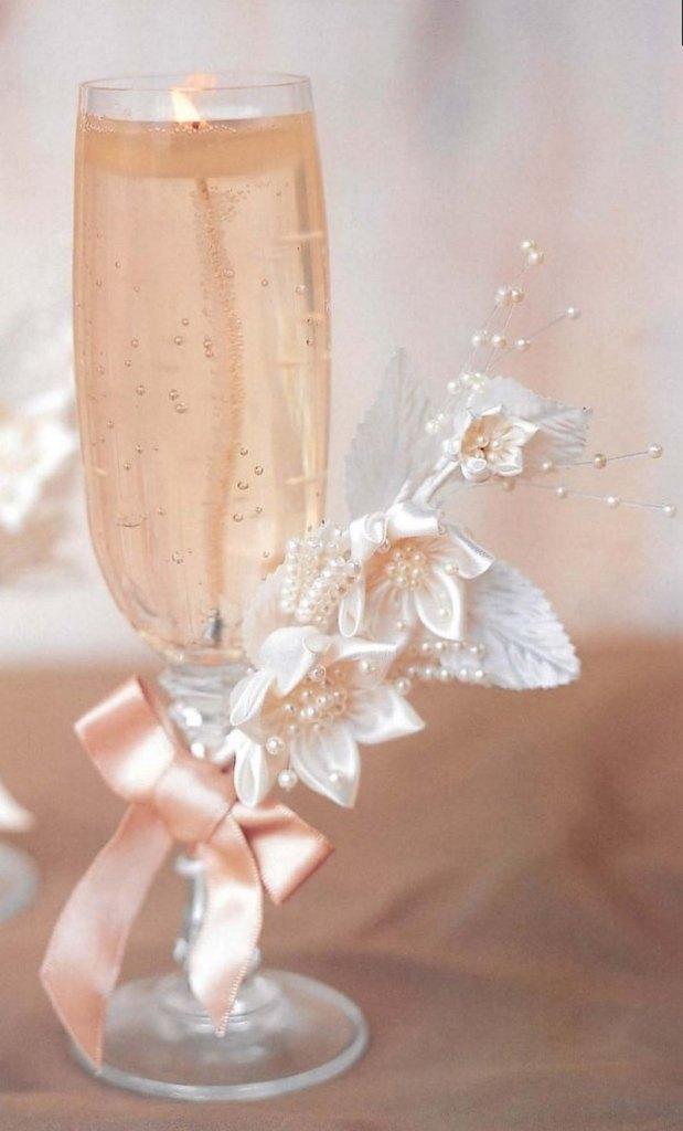свечи на свадьбу своими руками