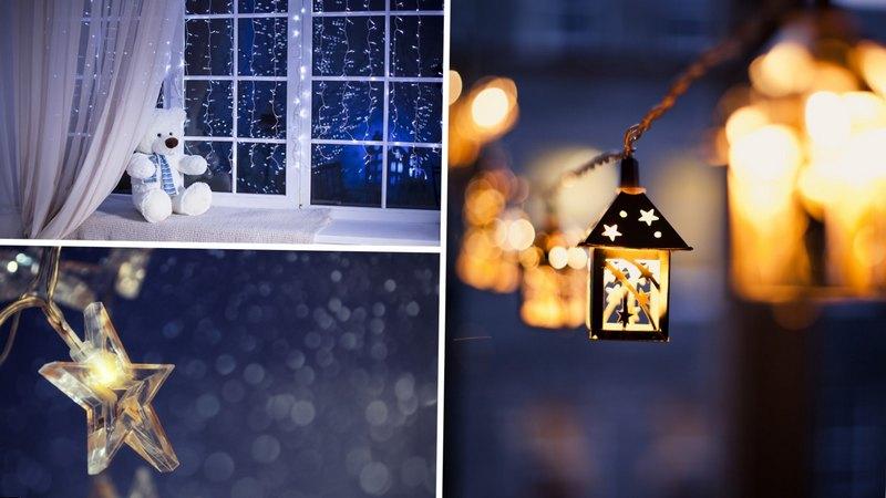 новогодние звездочки на окна