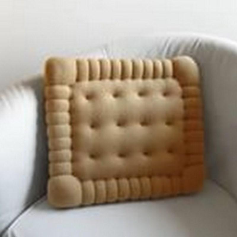 Подушка для дивана печенье