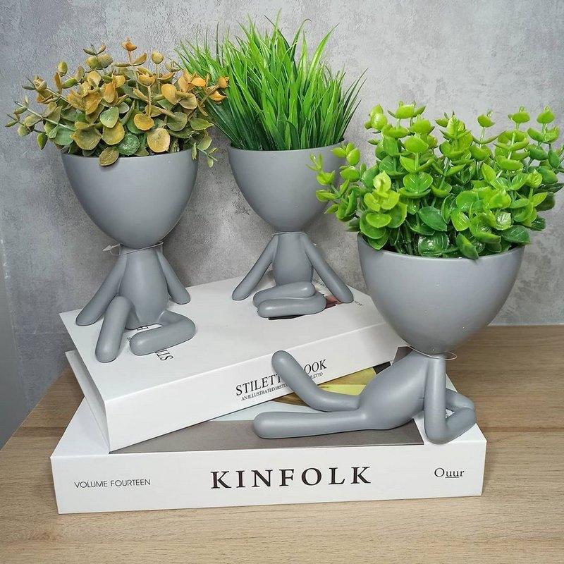 горшки для цветов на стол