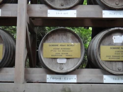 アルベール・ビショーの樽はヴォーヌロマネ1級