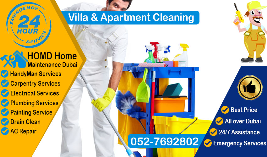 Villa and Apartment Cleaning  0527692802  Home