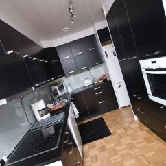 Black And White Kitchen Accessories Pot Hangers Decor