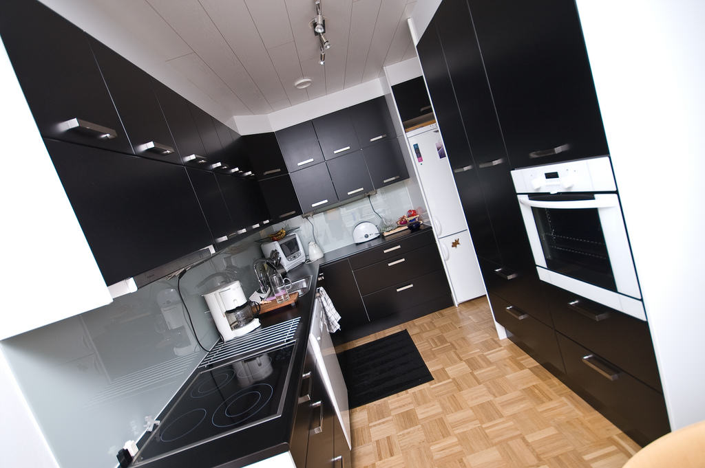 black and white kitchen accessories how much to reface cabinets decor