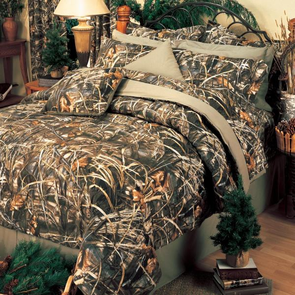 Camouflage Bedroom Decor