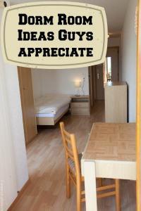 Awesome College Dorm Room Ideas Guys Will Appreciate