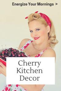 Cherry Themed Kitchen Accessories | Desainrumahkeren.com