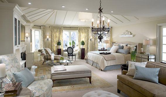 Красивая спальня классика