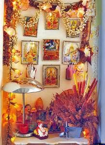 буддийский алтарь дома