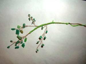 веточка декоративного деревца