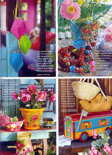 роспись акрилом вазы цветы декорирование