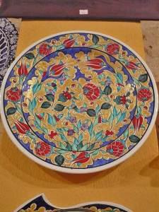тарелка с восточной росписью