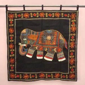 коврик с индийским слоником
