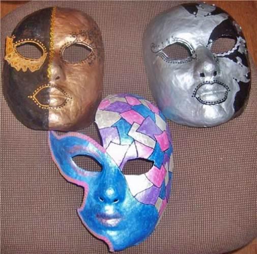 маски своими руками хенд-мейд
