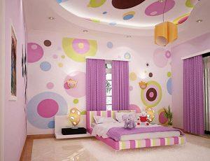 декор интерьера детских комнат