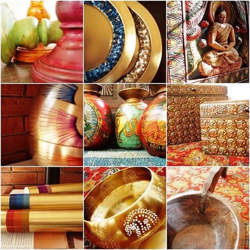 восточный декор - золотой цвет