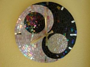 часы отделанные мозаикой своими руками