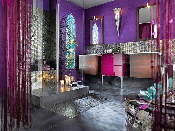 этническая ванная комната