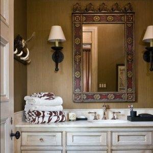 ванная интерьер в английском стиле