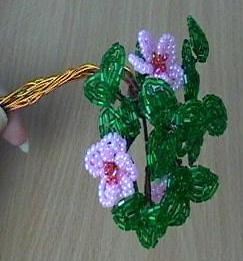 Ветка для дерева из бисера