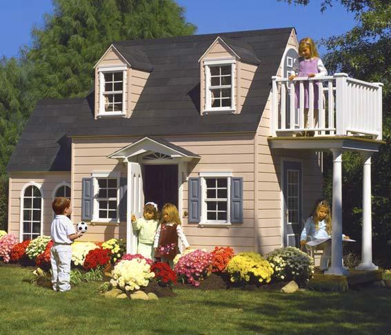 детские игровые дома
