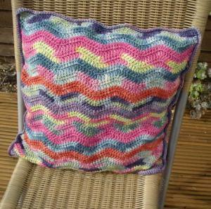 вязание крючком креативный хенд-мейд подушка